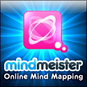 Mindmeister Mind Mapping tools. Small Format Website Banner Size:125x125px