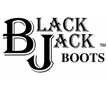 Men's Black Jack Boots Logo
