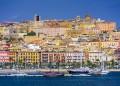Cagliari, Sardina, Italy cityscape.