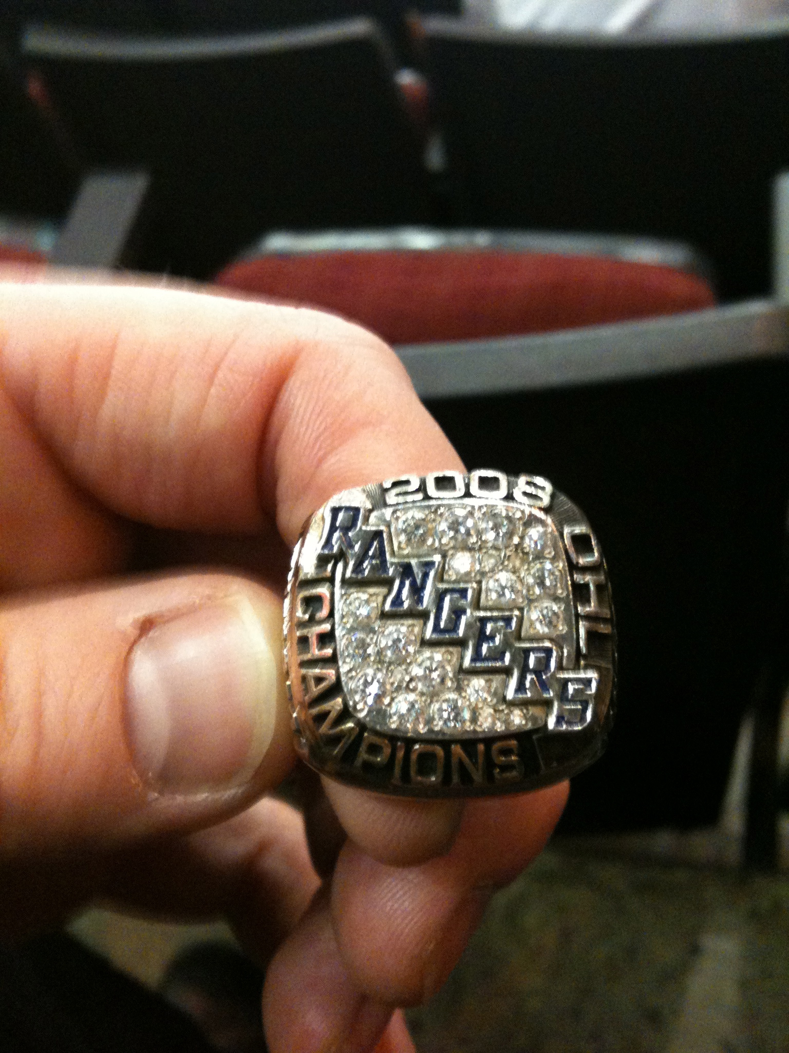 OHL Hockey Ring