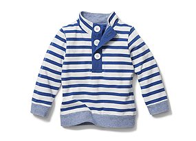 Kids Baby Boy Stripe Pullover