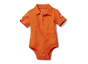 Kids Baby Boy Polo Bodysuit
