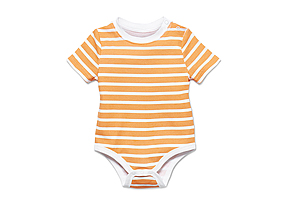 Kids Baby Boy Striped Bodysuit