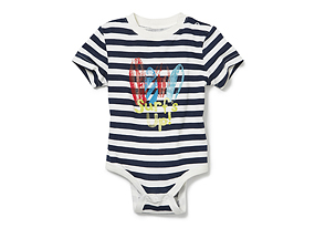 Kids Baby Boy Stripe Bodysuit