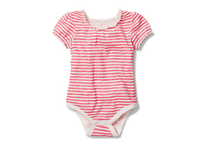 Kids Baby Girl Stripe Bodysuit
