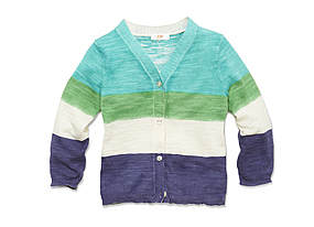 Kids Baby Girl Stripe Cardigan