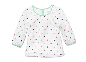 Kids Baby Girl Polka Dot Top