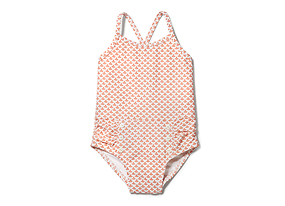 Kids Baby Girl Print Swim Suit