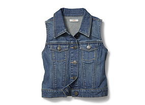 Kids Kid Girl Denim Vest