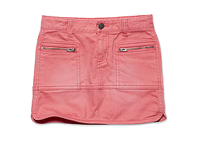 Kids Kid Girl Colour Jean Skirt