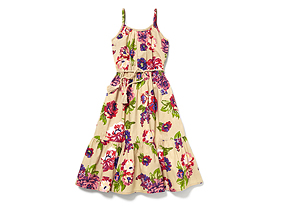 Kids Kid Girl Floral Sundress