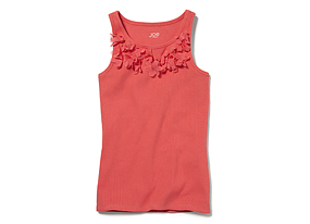 Kids Kid Girl Applique Tank