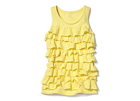 Kids Kid Girl Ruffle Tank