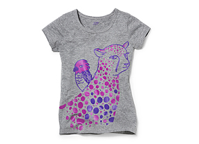 Kids Kid Girl Graphic Tee