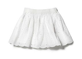Kids Kid Girl Eyelet Skirt