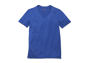 Men Tops Refined Vneck Tee