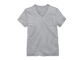 Men Tops Vneck Tee