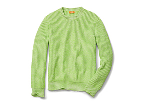 Men Tops Neon Sweater