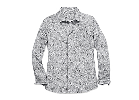 Men Tops Print Shirt