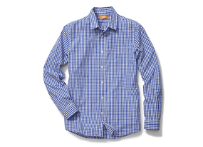 Men Tops Check Shirt