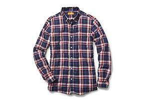 Men Tops Madras Shirt