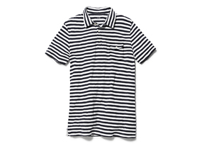 Men Tops Slub Pocket Polo