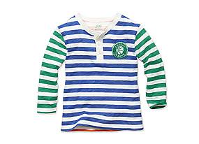 Kids Toddler Boy Stripe Longsleeve Tee