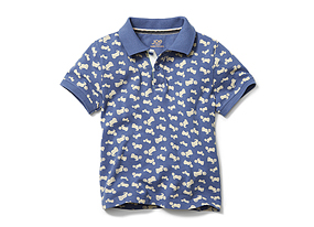Kids Toddler Boy Pique Polo