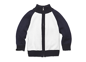 Kids Toddler Boy Zip Sweater
