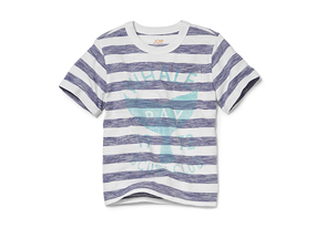 Kids Toddler Boy Stripe Graphic Tee