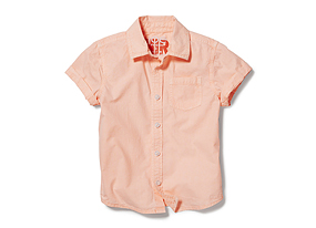Kids Toddler Boy Short Sleeve Shirt