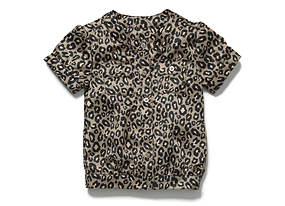 Kids Toddler Girl Animal Print Top