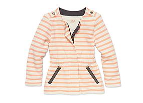 Kids Toddler Girl Stripe Cardigan