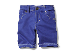 Kids Toddler Girl Coloured Denim Short