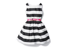Kids Toddler Girl Belted Dress