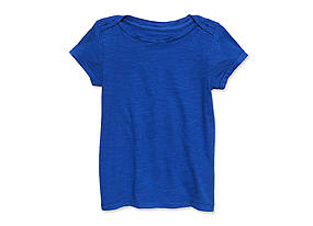 Kids Toddler Girl Solid Tee