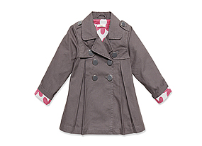 Kids Toddler Girl Trenchcoat