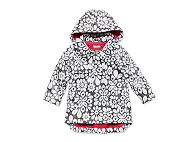 Kids Toddler Girl Print Raincoat