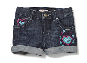 Kids Toddler Girl Jean Short