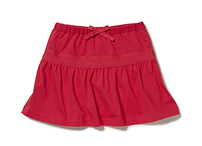 Kids Toddler Girl Jersey Skirt