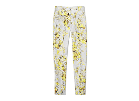 Women Pants/shorts Slim Print Pant