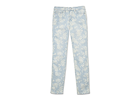 Women Pants/shorts Floral Print Jean