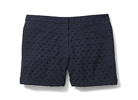 Women Pants/shorts Eyelet Short