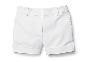 Women Pants/shorts Cuffed Short