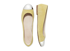 Women Shoes + Accessories Toecap Ballet Flat