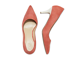 Women Shoes + Accessories Suede Pump