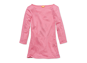 Women Tops Boatneck Tee