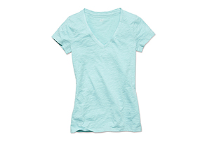 Women Tops Vneck Tee