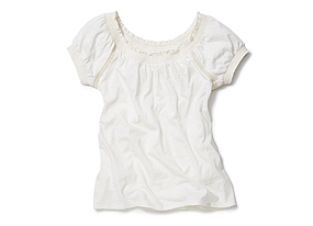 Women Tops Peasant Tee