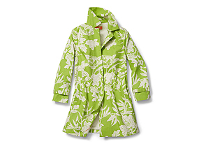 Women Outerwear Print Mac